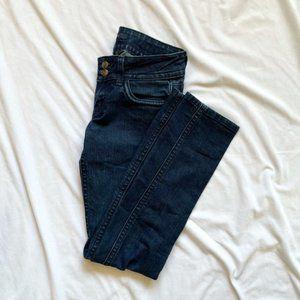 Vigoss Studio Straight Leg Double Button Jeans